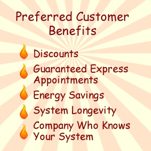 Preferred Customer Agreements for HVAC Benefits