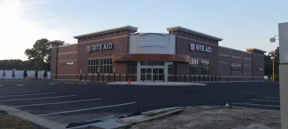 Rite Aid Store in Willow Oaks area of Hampton, Virginia