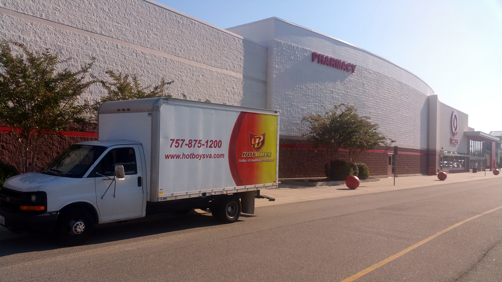 Target Optical Centers with Hotboys Truck