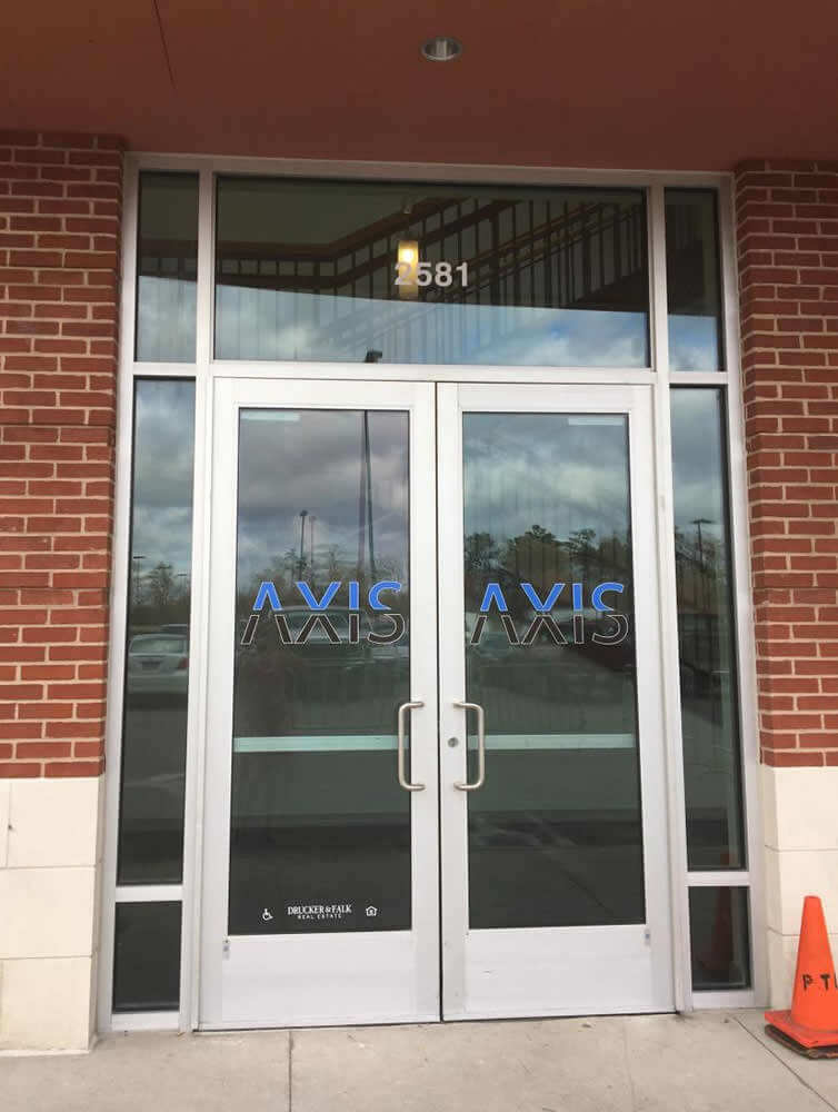 The AXIS Buidling Hampton Front Door