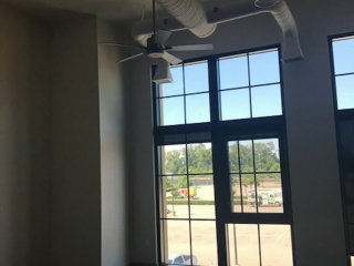 The AXIS Buidling Hampton HVAC Ductwork
